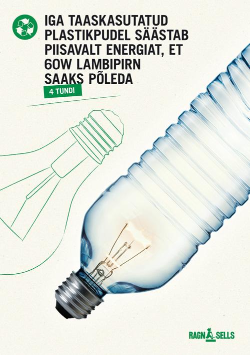 Ragn-Sells taaskasutus reklaamid - lambipirn
