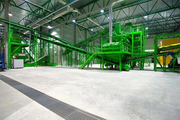 Jäätmekütuse tootmisliin Ragn-Sells