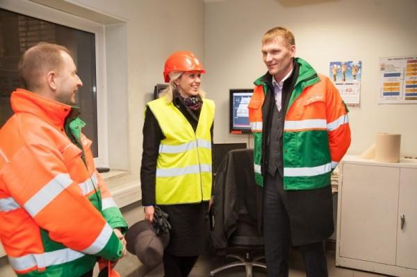Urve Palo külastas jäätmekütuse tehast