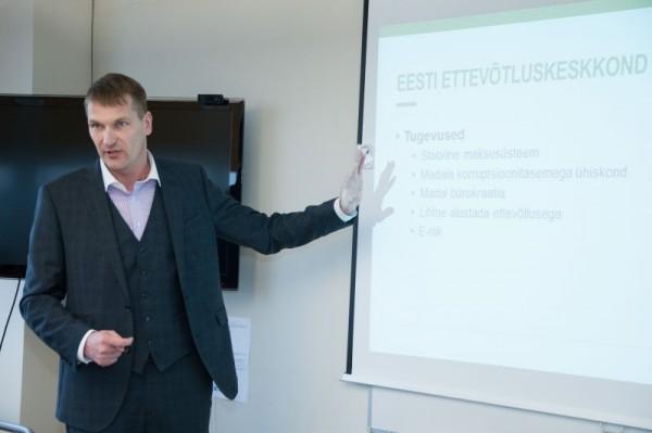 Rain Vääna Eesti ettevõtluskeskkonna plussid ja väljakutsed