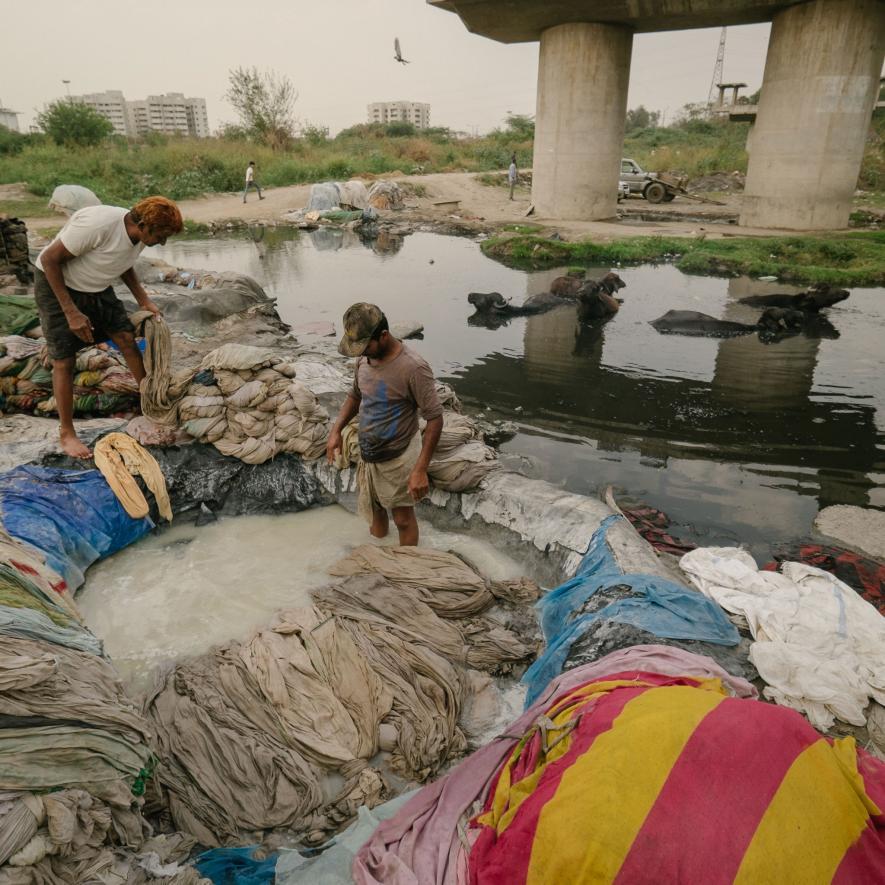 Maailma saastatuim paik NEW DELHI: Fotod: National Geographic